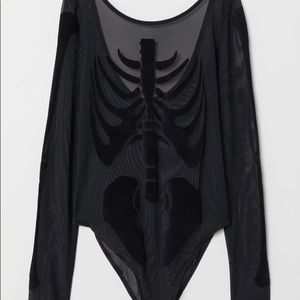 H&M: Mesh Skeleton Bodysuit